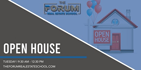 Open House - Join Us On Zoom tickets