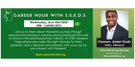 Career Hour with S.E.E.D.S. tickets