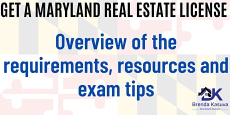 Exam Prep: Maryland Real Estate License Exam tickets
