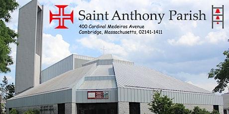 Sunday Mass (English) - Missa Dominical (Inglês) - 10 am tickets