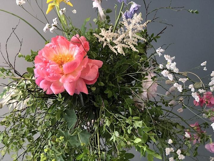 SOIS  BLESSED Flower Workshop - THE FLOATING FLOWER BOUQUET: Bild
