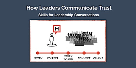How Leaders Communicate Trust:  Intro to Conversational Leadership (June 3) tickets