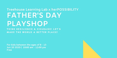 Socio-Emotional Design Playshop For Kids Ages 8-13 (Fathers Day Edition!) tickets