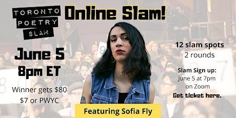 Toronto Poetry Slam Online ft. Sofia Fly! tickets