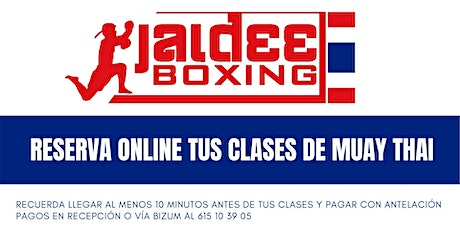 Clases Jaidee Boxing Muay Thai tickets