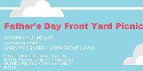 Father's Day Front Yard Picnic tickets