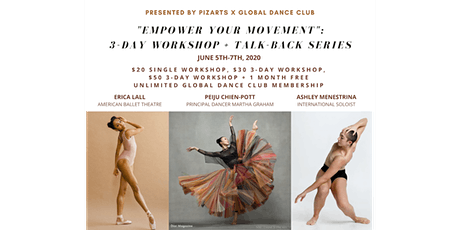 Empower Your Movement: Erica Lall (ABT) + PeiJu Chien-Pott (Graham) & More tickets