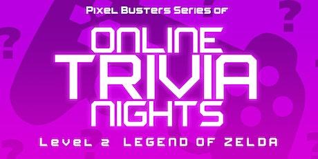 Legend of Zelda - Online Trivia Night tickets