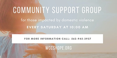 Community Support Group-For those impacted by Domestic Violence tickets