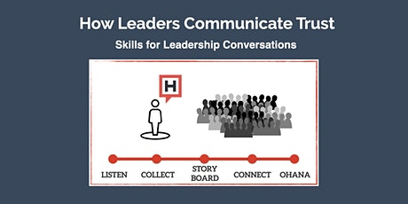 How Leaders Communicate Trust:  Intro to Conversational Leadership (Jun 17) tickets