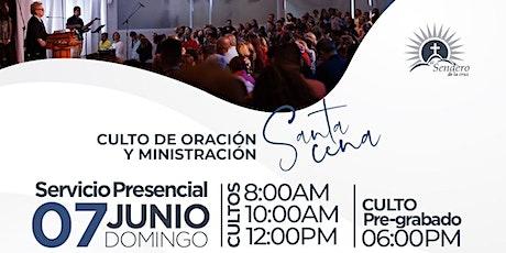 Iglesia El Sendero de la Cruz - Cultos de Reapertura  7 de junio 2020 tickets