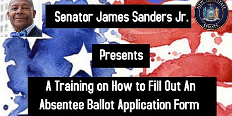 A Training on How to Fill Out the Absentee Ballot Application Form tickets
