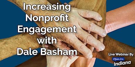 Live Webinar: Increasing Nonprofit Engagement tickets