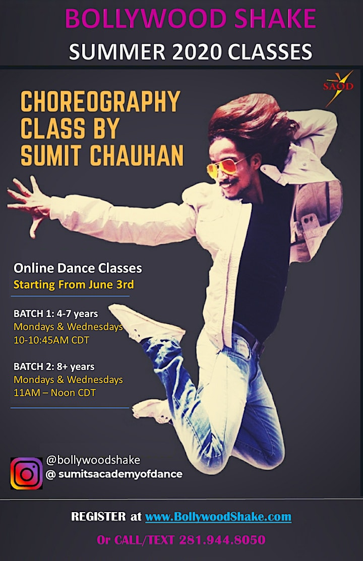 ONLINE BOLLYWOOD DANCE CLASSES image