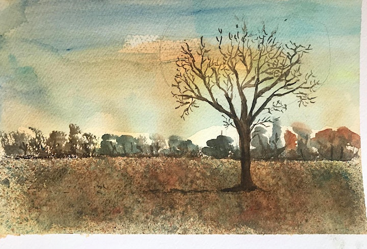 Free Watercolor workshop on Zoom with Lucia Gonnella image