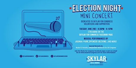 Democratic Primary Election Night Mini-Concert Dedicated to Volunteers tickets
