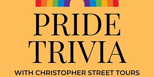 Queer Trivia with Christopher Street Tours