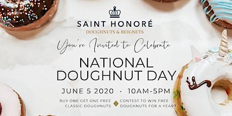 Saint Honoré National Doughnut Day tickets