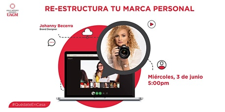 Re-Estructura Tu Marca Personal tickets