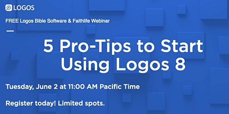 5 Pro-Tips to Start Using Logos 8 tickets