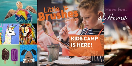 Little Brushes 5-Day Summer Camp At Home tickets
