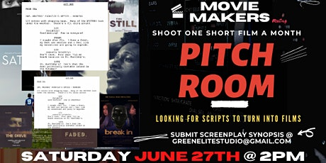 Broward Movie Makers: The Pitch Room tickets