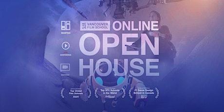 Vancouver Film School - Online Open House - Summer 2020 tickets