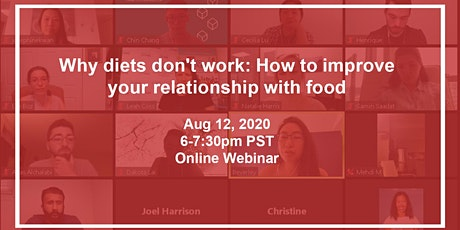 Why diets don't work: How to improve your relationship with food. tickets