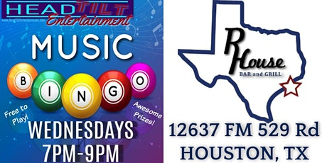 MUSIC BINGO AT R HOUSE BAR AND GRILL tickets