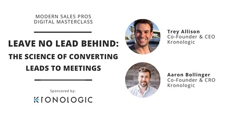 MSP Masterclass - Leave No Lead Behind: Converting Leads to Meetings tickets