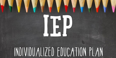 Introduction to IEP Transition Plans for Parents/Guardians  in English tickets