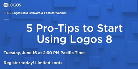5 Tips to Learn Logos like a Pro tickets