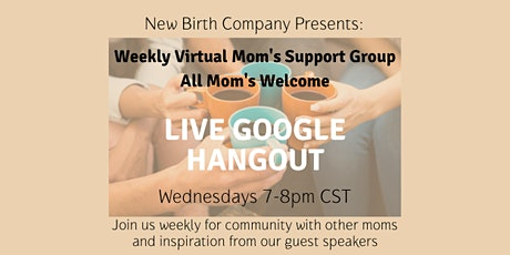 Virtual Mom's Support Group tickets