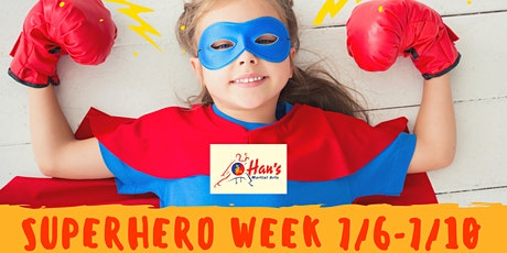 Superhero Week 1 tickets