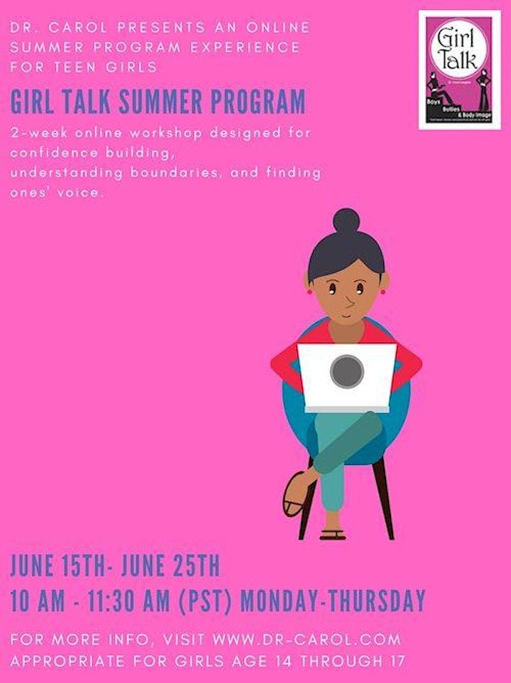 Girl Talk Summer Program image