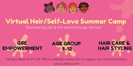 CurlBoss Virtual Summer Camp tickets