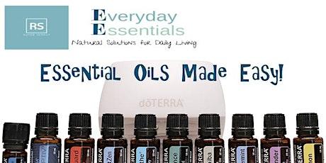Essential Oils Made Easy! tickets