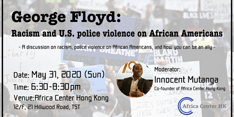George Floyd: Racism and U.S. police violence on African Americans tickets