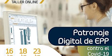 Taller Online: Patronaje Digital  de EPP contra el Covid-19 entradas