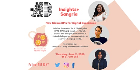Insights + Sangria:  New Global  KPIs for Digital Excellence entradas