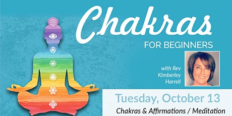 Affirmations and Meditation and Your Chakras Kimberley Harrell tickets
