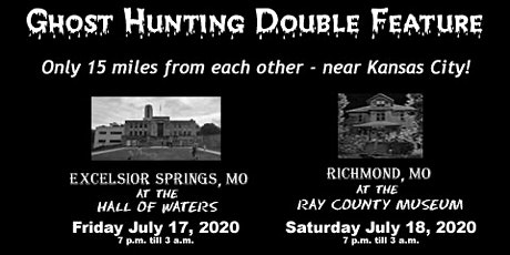 Special Ghost Hunting Double Feature tickets
