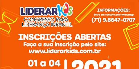 LIDERAR KIDS ingressos