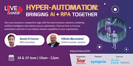 Hyper-Automation: Bringing AI + RPA Together tickets