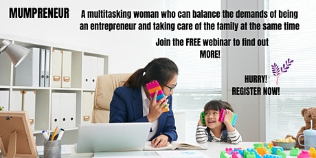 Mumpreneur Online Webinar tickets