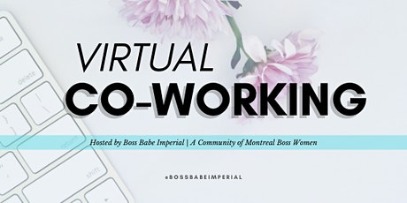 Virtual Co-working: 1 hour, 1 goal tickets