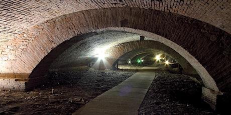 L'ospedale del Ceppo: Pistoia sotterranea e il fregio biglietti