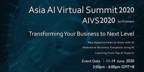 Asia AI Virtual Summit 2020 tickets