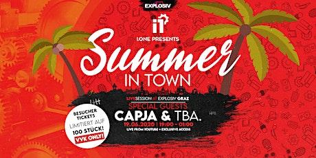 I.ONE invites CAPJA @ Explosiv Graz Tickets