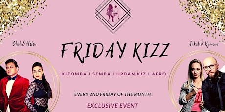 PREMIERE 1. Friday Kizz - Exclusive Workshop & Practice Night Tickets